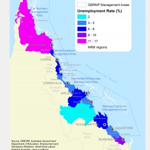 GBR Coastal Communities Unemployment Rate by LGA