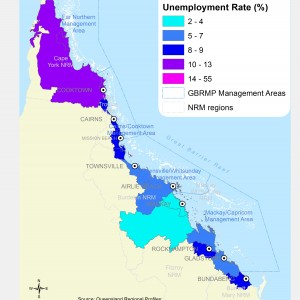 Unemployment Rate, by Local Government Area (%)