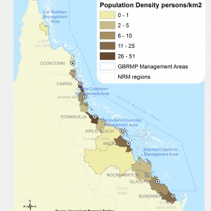 Population density, by Local Government Area (persons per km2)