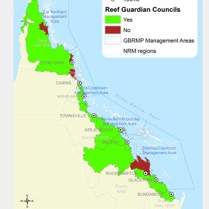 Reef Guardian Council Programs, by Local Government Area
